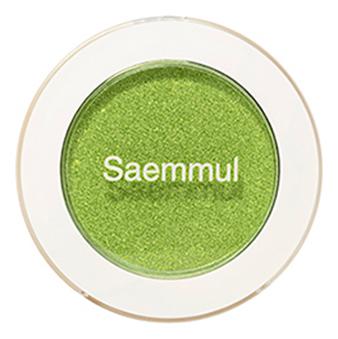 Тени для век мерцающие Saemmul Single Shadow Shimmer 2г: GR03 Sweet & Sour Lime