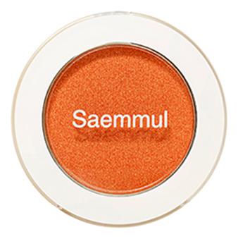 Фото - Тени для век мерцающие Saemmul Single Shadow Shimmer 2г: OR06 Purity Orange тени для век piece matching shadow 2г fsv01 moon flash
