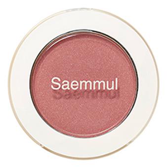Тени для век мерцающие Saemmul Single Shadow Shimmer 2г: PK09 Rose Fence clarins 01 rose shimmer
