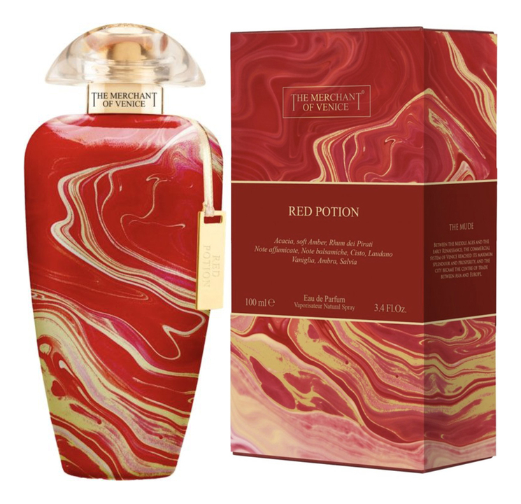 The Merchant Of Venice Red Potion: парфюмерная вода 100мл