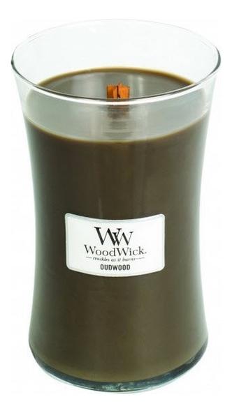 Купить Ароматическая свеча Oudwood: свеча 609, 5г, WoodWick