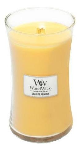Купить Ароматическая свеча Seaside Mimosa: свеча 609, 5г, WoodWick