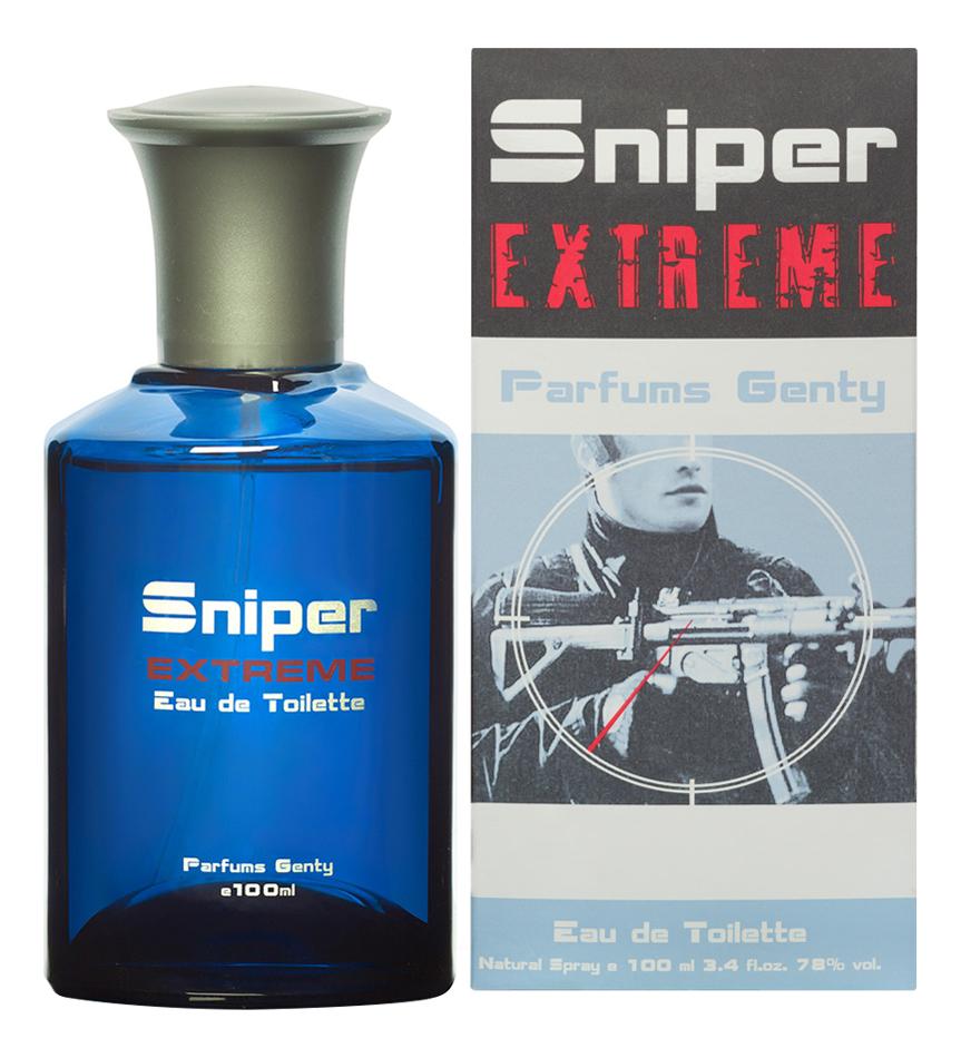 цена Parfums Genty Sniper Extreme: туалетная вода 100мл онлайн в 2017 году