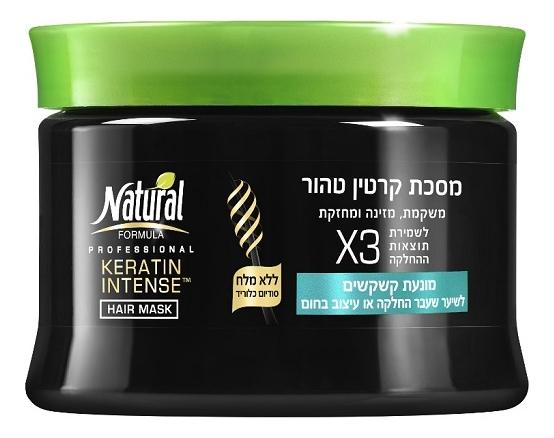 Маска для волос с кератином против перхоти Keratin Intense Hair Mask X3 350мл недорого