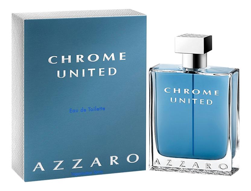 Azzaro Chrome United: туалетная вода 200мл azzaro pour homme туалетная вода 200мл