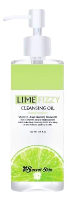 Купить Очищающее масло для лица Lime Fizzy Cleansing Oil 150мл, Secret Skin