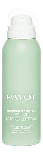 Купить Легкая дымка-спрей для ног с охлаждающим эффектом Herboriste Detox Brume Jambes Legeres 100мл, Payot