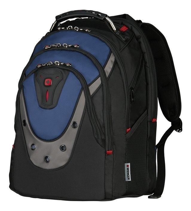 цена Рюкзак Ibex 600638 (черный/синий) онлайн в 2017 году