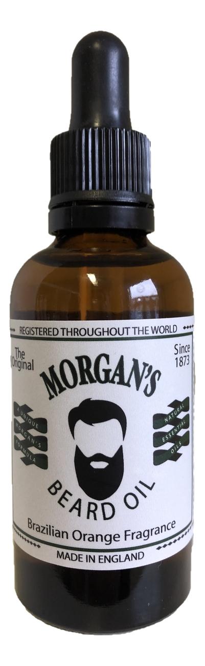 Купить Масло для бороды Brazilian Orange Beard Oil: Масло 50мл, Morgan's Pomade