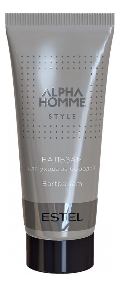 Бальзам для ухода за бородой Alpha Homme Style: Бальзам 30мл alpha homme бальзам для ухода за бородой style 30 мл