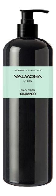 Шампунь для волос Аюрведа Valmona Ayurvedic Scalp Solution Black Cumin Shampoo 480мл: Шампунь 480мл