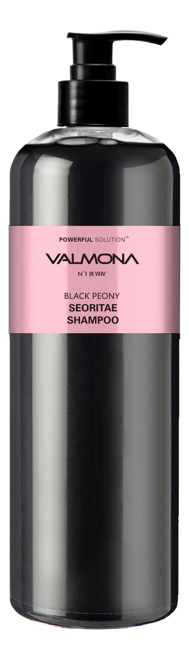 Шампунь для волос Черные бобы Valmona Powerful Solution Black Peony Seoritae Shampoo 480мл: Шампунь 480мл фото