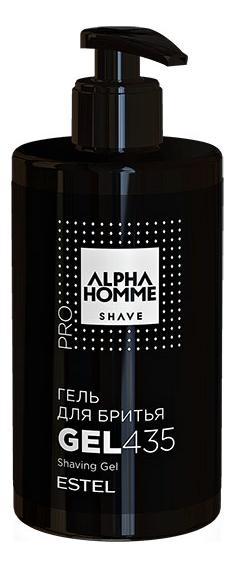 Гель для бритья Alpha Homme Shave: Гель 435мл гель крем для лица alpha homme genwood hydro 50мл