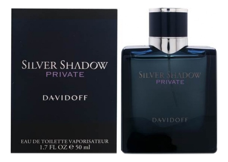 Davidoff Silver Shadow Private: туалетная вода 50мл