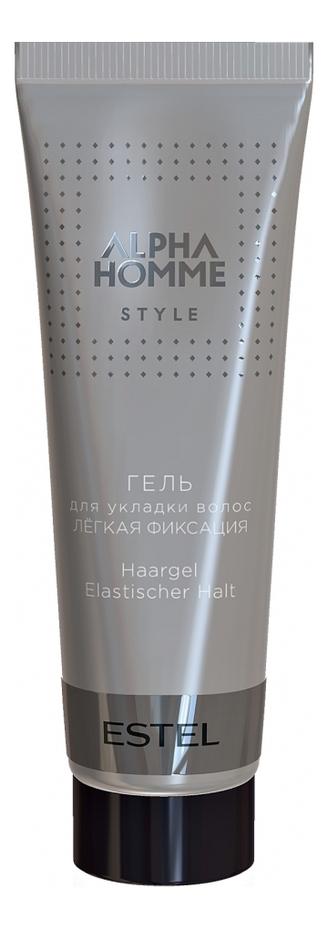 Гель для укладки волос Alpha Homme Style: Гель 50мл гель крем для лица alpha homme genwood hydro 50мл