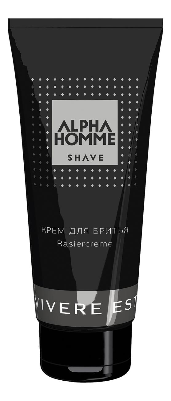Крем для бритья Alpha Homme Shave: Крем 100мл гель крем для лица alpha homme genwood hydro 50мл