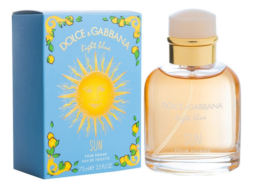 Купить Dolce Gabbana (D&G) Light Blue Sun Pour Homme: туалетная вода 75мл, Dolce Gabbana (D&G) Light Blue Sun Pour Homme, Dolce & Gabbana