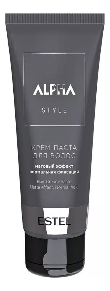 Крем-паста для волос с матовым эффектом Alpha Homme Style 100мл