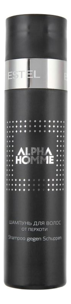 Шампунь для волос от перхоти Alpha Homme 250мл лук для волос от перхоти