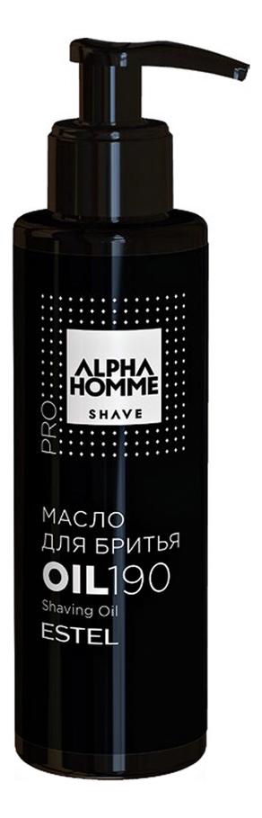 Купить Масло для бритья Alpha Homme: Масло 190мл, ESTEL