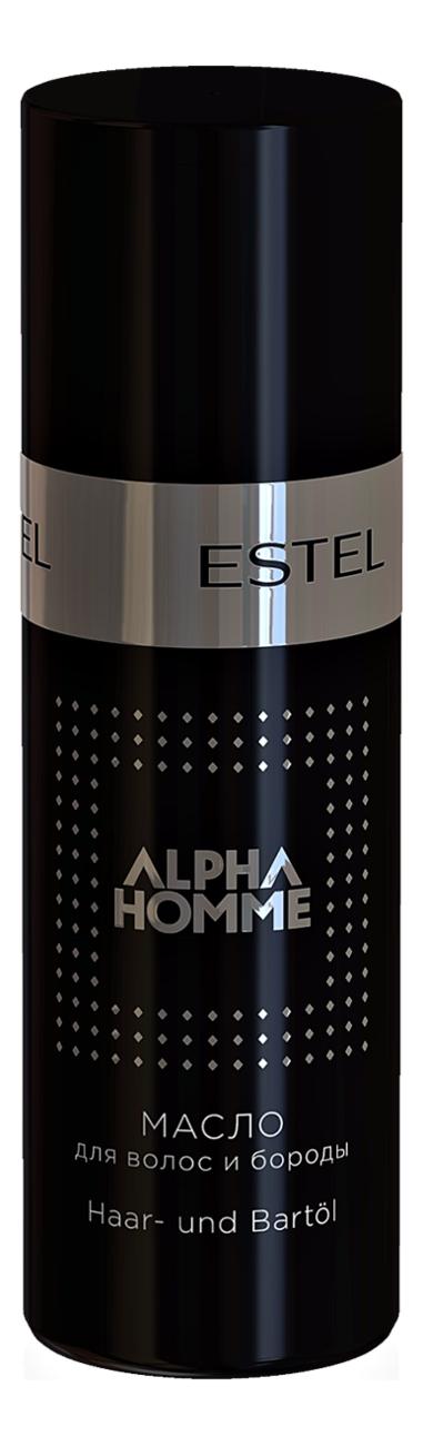 Масло для волос и бороды Alpha Homme: Масло 50мл, ESTEL  - Купить