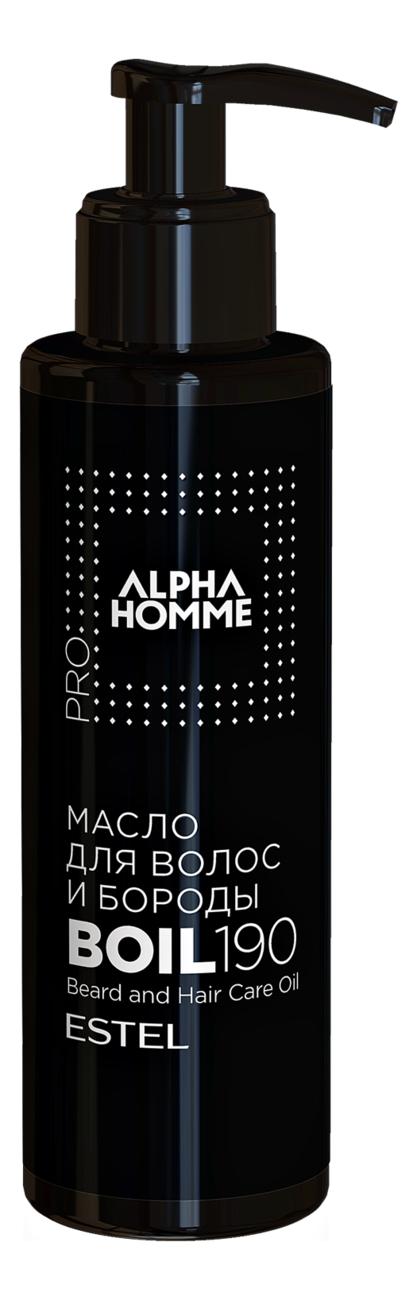 Масло для волос и бороды Alpha Homme: Масло 190мл alpha homme масло для волос и бороды с дозатором 190 мл
