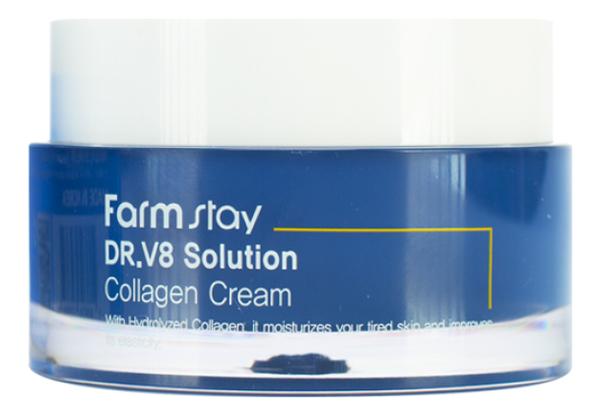 Крем для лица с коллагеном Dr.V8 Solution Collagen Cream 50мл фото