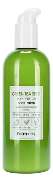 Купить Парфюмерный лосьон для тела с экстрактом зеленого чая Green Tea Seed Daily Perfume Body Lotion 330мл, Farm Stay