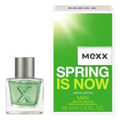 Mexx Spring is Now Man: туалетная вода 50мл