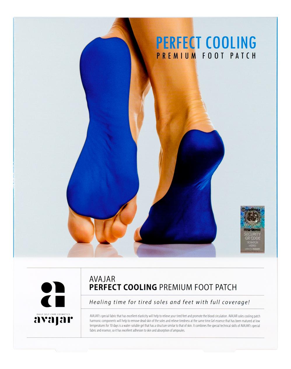 Охлаждающий патч для ступней ног Perfect Cooling Premium Foot Patch: Патчи 5шт