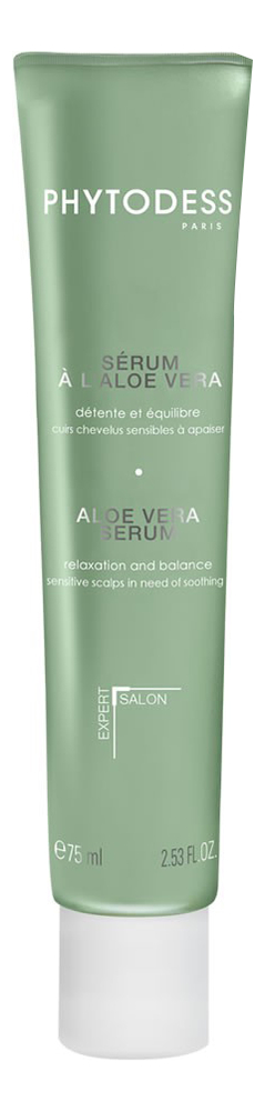 Купить Сыворотка для чувствительной кожи головы с экстрактом алоэ вера Serum A L'aloe Vera Detente Et Equilibre 75мл, Phytodess