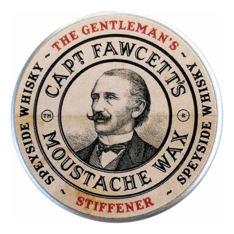 Купить Воск для усов Gentleman's Stiffener Malt Whisky 15мл, Captain Fawcett