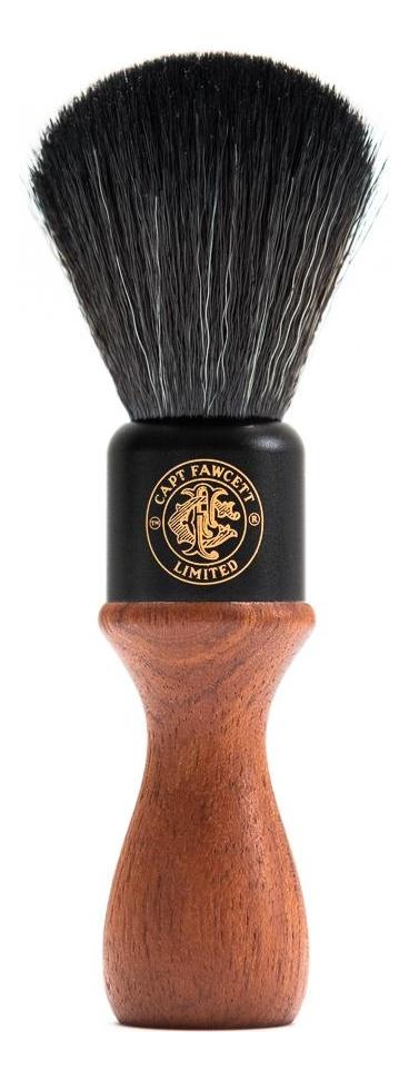 Помазок дерево искусственный ворс Synthetic Fibre Shaving Brush