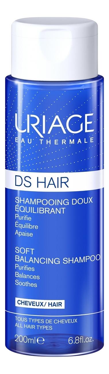 Купить Мягкий балансирующий шампунь для волос DS Shampooing Doux Equilibrant: Шампунь 200мл, Uriage