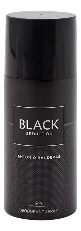 Antonio Banderas In Black Seduction Man: дезодорант 150мл дезодорант antonio banderas antonio banderas an007lmnuh41