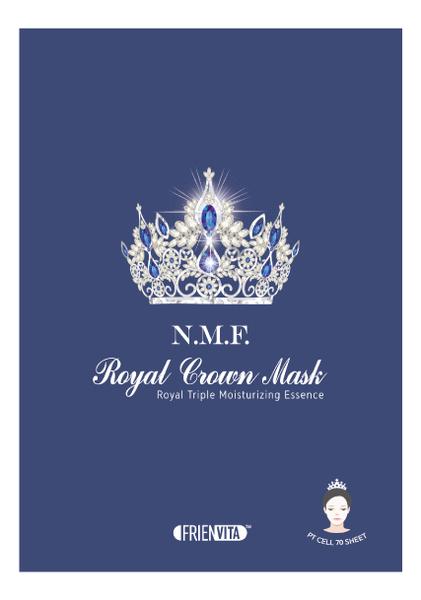 Тканевая маска для лица восстанавливающая естественный барьер кожи N.M.F. Royal Crown Mask 28г
