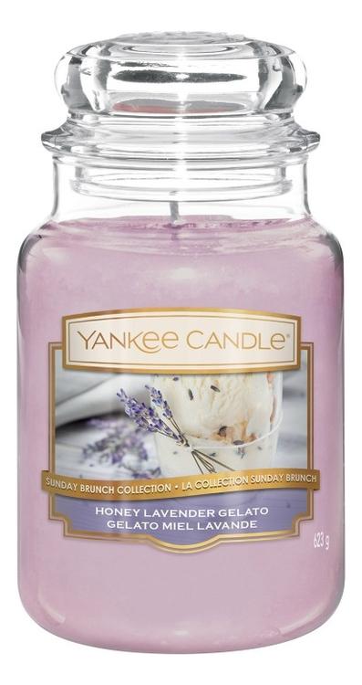 Купить Ароматическая свеча Honey Lavender Gelato: Свеча 623г, Yankee Candle