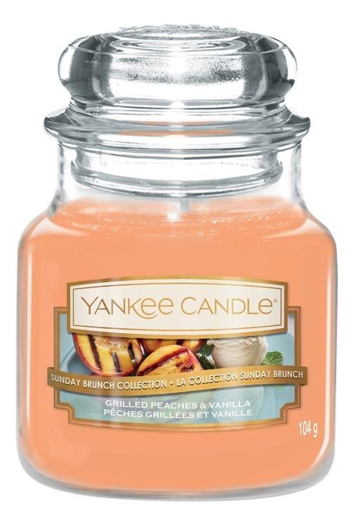 Ароматическая свеча Grilled Peaches & Vanilla: Свеча 104г