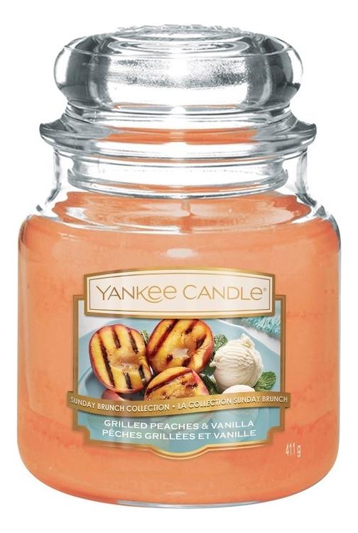 Ароматическая свеча Grilled Peaches & Vanilla: Свеча 411г