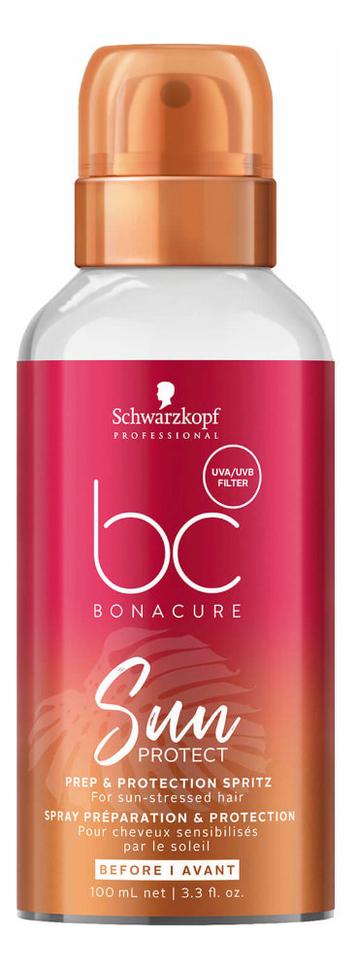 Купить Солнцезащитный спрей для волос BC Sun Prep & Protection Spritz 100мл, Солнцезащитный спрей для волос BC Sun Prep & Protection Spritz 100мл, Schwarzkopf Professional