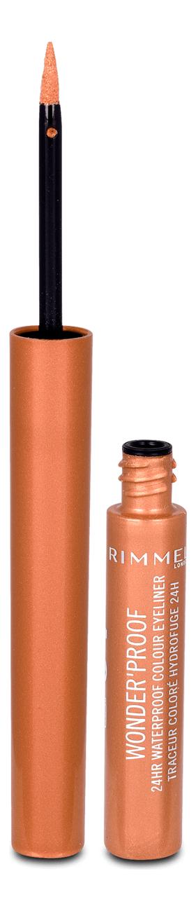 Подводка для глаз Wonder Proof Liner 1мл: 001 True Copper недорого
