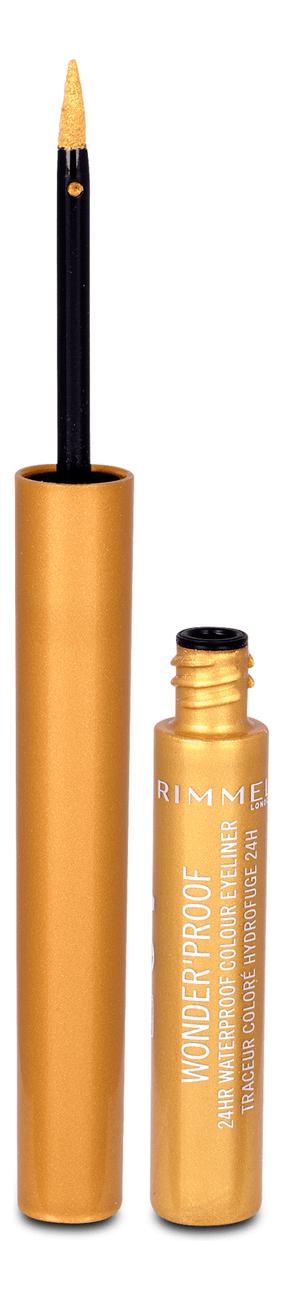 Подводка для глаз Wonder Proof Liner 1мл: 007 Shiny Gold