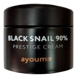 Крем для лица c муцином черной улитки Black Snail 90% Prestige Cream 70мл недорого
