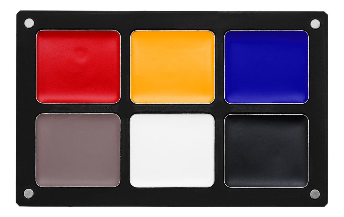 Водостойкая кремовая палетка для макияжа Waterproof Cream Palettes: Primary Palete