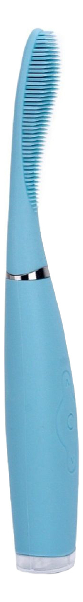 Звуковая силиконовая зубная щетка IFB-22000-ninja (синяя) фото