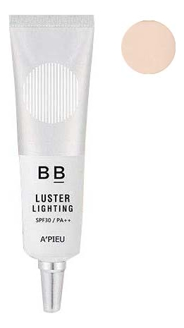 BB крем для лица с эффектом сияния Luster Lighting Cream SPF30 PA++ 20г: No 17 жидкая крем пудра для лица yokibi essence cream foundation spf15 pa 20г 201 охра