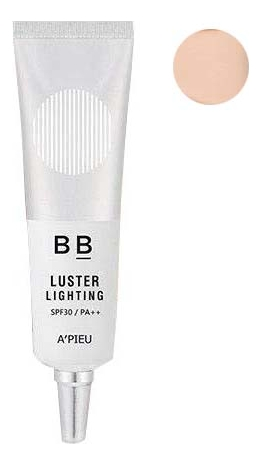 BB крем для лица с эффектом сияния Luster Lighting Cream SPF30 PA++ 20г: No 21 жидкая крем пудра для лица yokibi essence cream foundation spf15 pa 20г 201 охра
