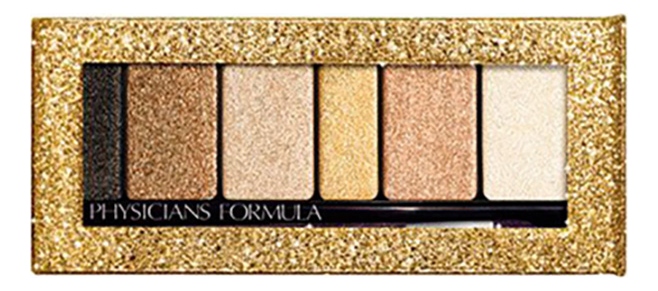 Палетка теней для век с шиммером Shimmer Strips Extreme Eyeshadow & Liner 3,4г: Gold Nude
