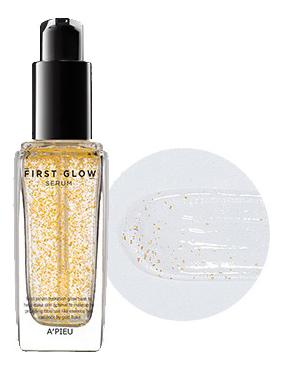 Купить База-сыворотка под макияж сияющая First Glow Serum 35г: 01 Hydro Fit, A'PIEU