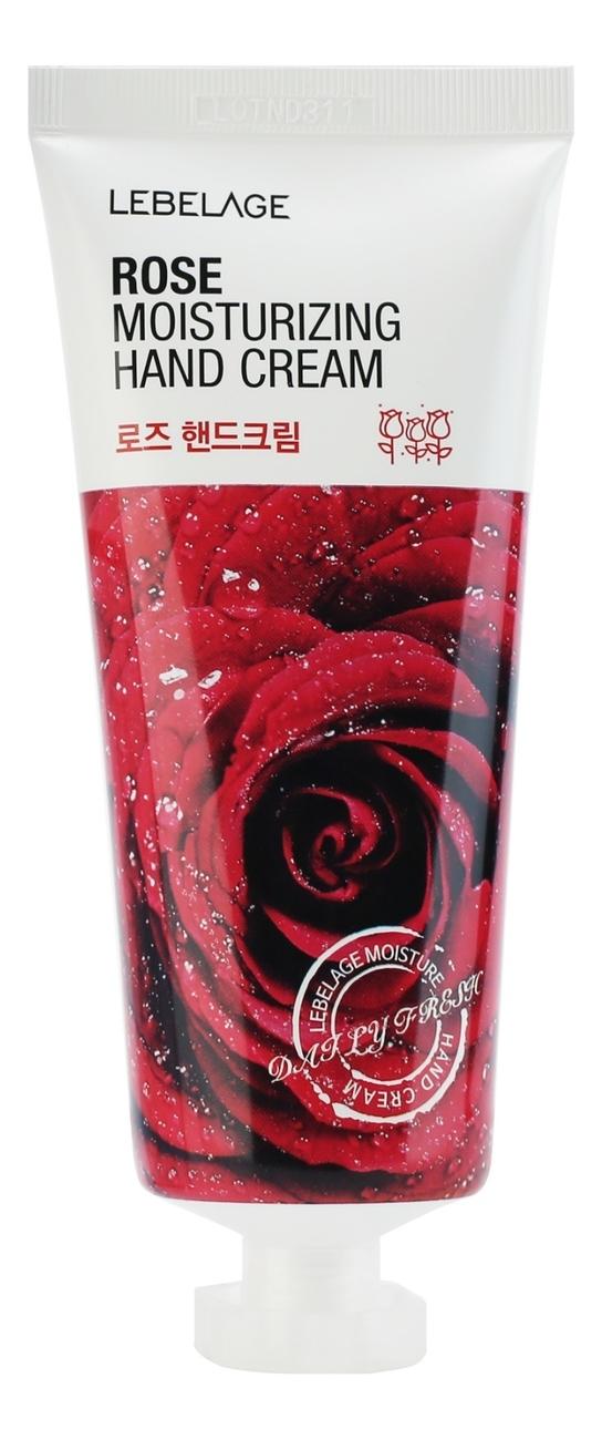 Крем для рук с экстрактом розы Moisturizing Hand Cream Rose 100мл недорого